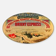 The Orient Express Oval Decal