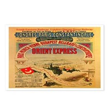 The Orient Express Postcards (Package of 8)