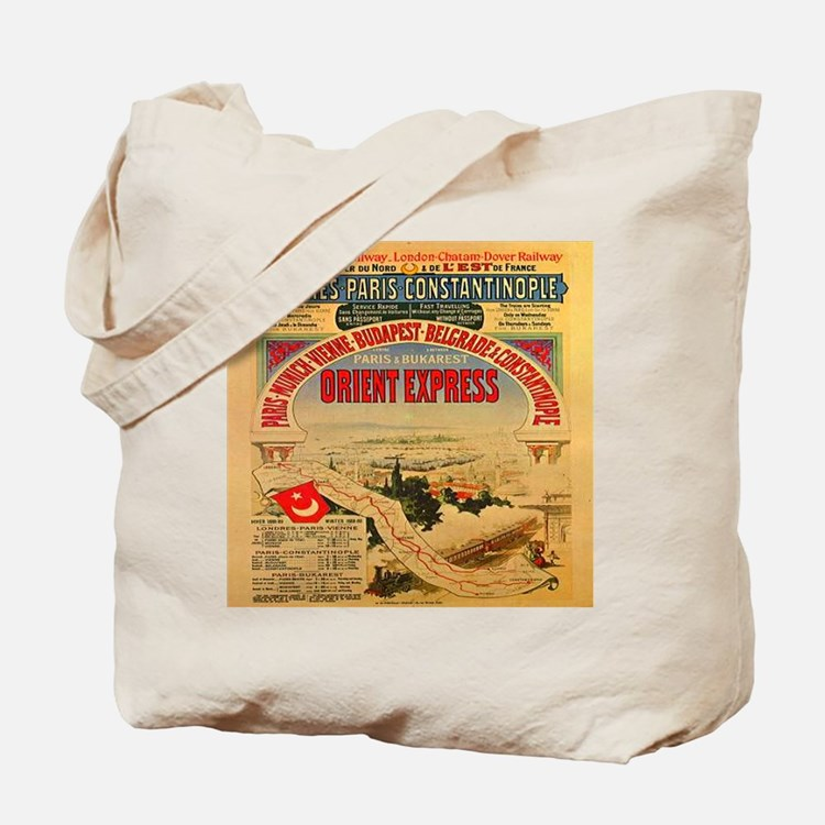 The Orient Express Tote Bag