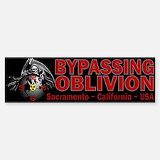Bypassing Oblivion Bumper Bumper Bumper Sticker