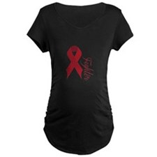 Red Fighter Maternity T-Shirt