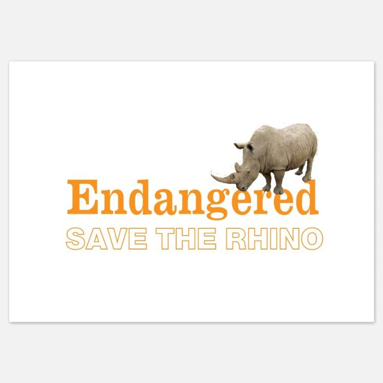 Rhino Invitations