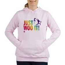 Cute Malamute Women's Hooded Sweatshirt