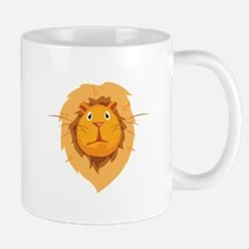 Perplexed Lion Mugs