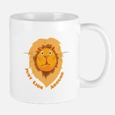 Just Lion Around Mugs