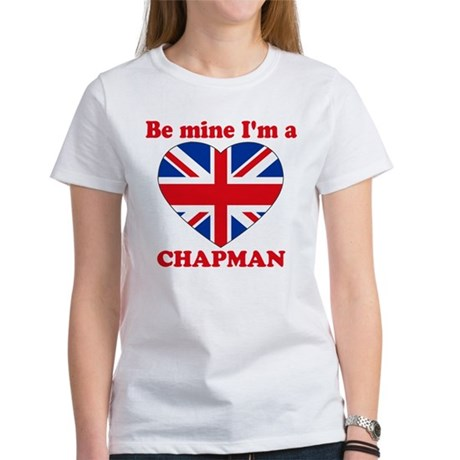 Chapman, Valentine's Day Women's T-Shirt