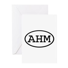AHM Oval Greeting Cards (Pk of 10)