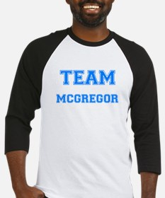 TEAM MCGREGOR Baseball Jersey