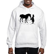 Horse & Girl Hoodie