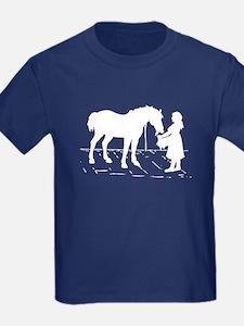 Horse & Girl T