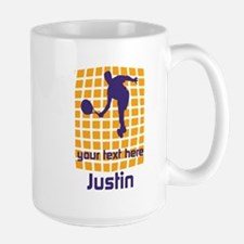 Custom Bright Tennis Large Mug Mugs