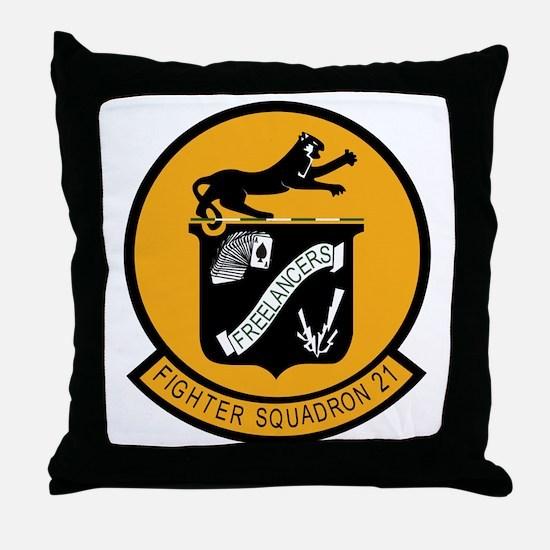 VF-21.png Throw Pillow