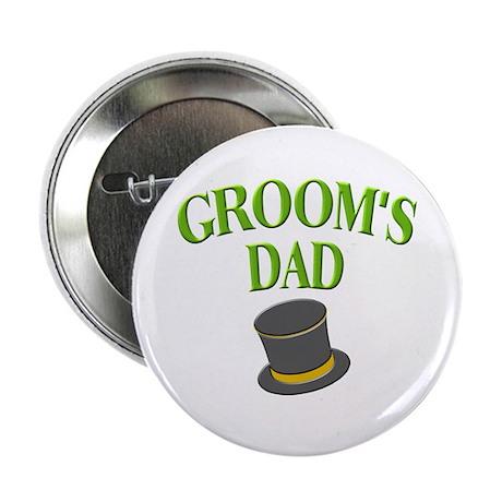 Groom's Dad(hat) Button