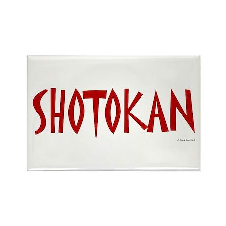 Shotokan Rectangle Magnet