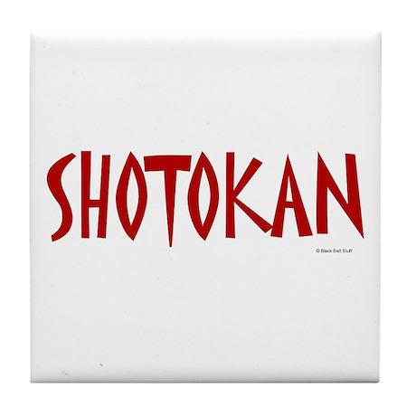 Shotokan Tile Coaster