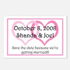 Save the date Postcards (Package of 8)