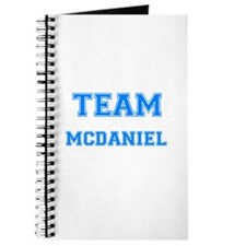 TEAM MCDANIEL Journal