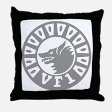 F-14 Tomcat VF-1 Wolfpack Squadron ro Throw Pillow