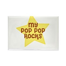 My Pop Pop Rocks Rectangle Magnet