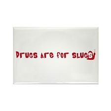 anti-drug stuff Rectangle Magnet