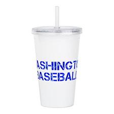 WASHINGTON baseball-cap blue Acrylic Double-wall T
