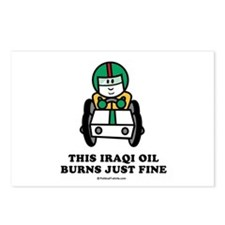 This Iraqi oil burns just fine Postcards (Package