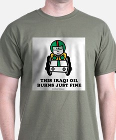 This Iraqi oil burns just fine T-Shirt