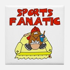 Sports Fanatic Tile Coaster