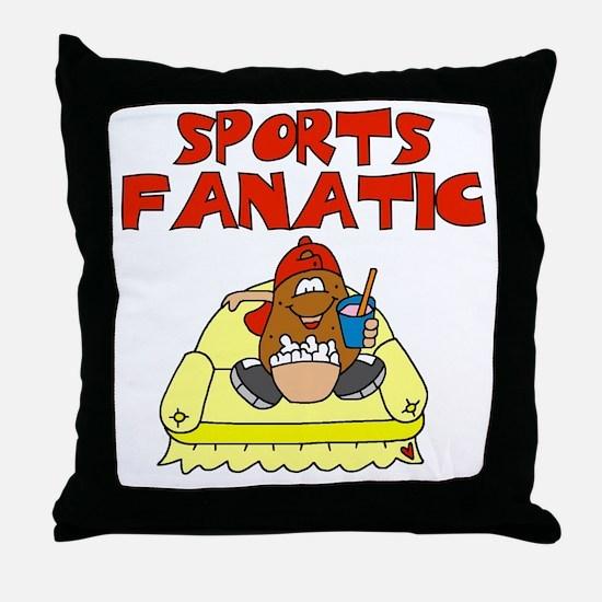 Sports Fanatic Throw Pillow
