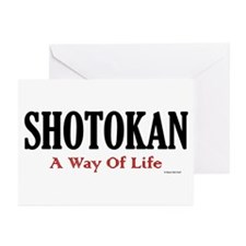 Shotokan A Way Of Life Greeting Cards (Package of