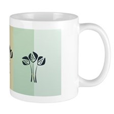 Art Deco Style Pastels Office Mug Mugs