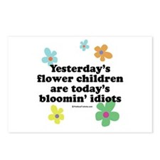 Bloomin' Idiots Postcards (Package of 8)