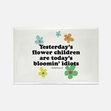 Bloomin' Idiots Rectangle Magnet
