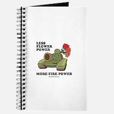 Less flower power Journal
