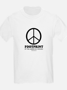 Footprint of the American Chicken T-Shirt