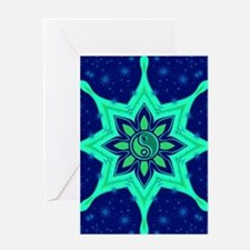 Tranquil Balance Greeting Cards