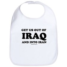 Get us out of Iraq, and into Iran Bib