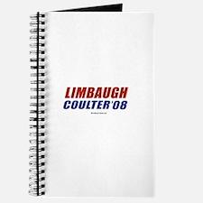 Limbaugh / Coulter 2008 Journal