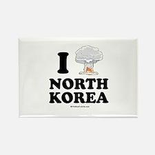 I (bomb) North Korea Rectangle Magnet