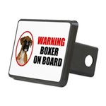Boxer On Board Rectangular Hitch Cover