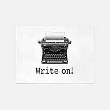Write on 5'x7'Area Rug