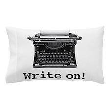 Write on Pillow Case
