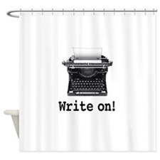 Write on Shower Curtain