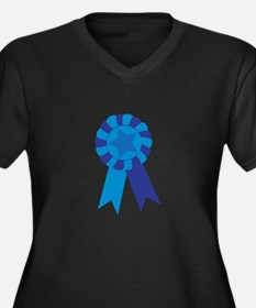 Blue Ribbon Plus Size T-Shirt