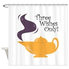 Three Wishes Only! Shower Curtain