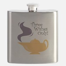 Three Wishes Only! Flask
