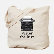 Writer for hire Tote Bag