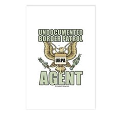 Undocumented border patrol agent Postcards (Packag