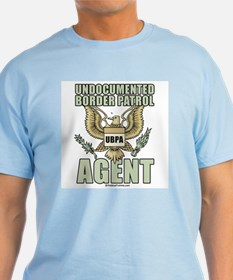 Undocumented border patrol agent T-Shirt