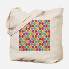Retro Hexagons Tote Bag